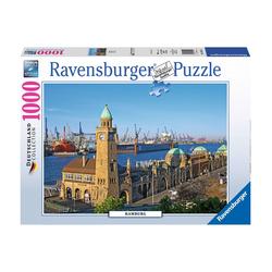 Ravensburger Puzzle Hamburg, 1000 Puzzleteile, Made in Germany