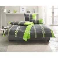 TOM TAILOR Ole Biber grün 135 x 200 cm + 80 x 80 cm