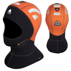 Waterproof H1 5/7 High Visibility Kopfhaube - Gr: M