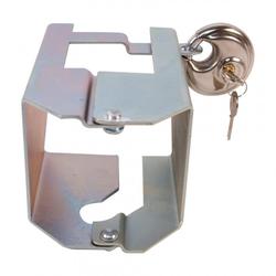 Frielitz Kastenschloss mit Scharnier inkl. Rundschloss mit 2 Schlüsseln