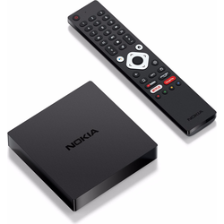 Nokia Streaming box 8000 (Google Assistant), Streaming Media Player, Schwarz