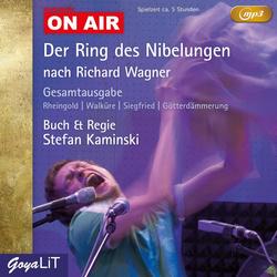 Der Ring des Nibelungen (MP3) als Hörbuch CD von Stefan Kaminski