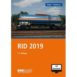 RID 2019 als Buch von Klaus Ridder/ Jörg Holzhäuser