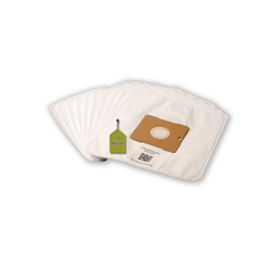 eVendix Staubsaugerbeutel Staubsaugerbeutel kompatibel mit Clatronic BS 1301, 10 Staubbeutel + 1 Mikro-Filter, kompatibel mit SWIRL Y101, passend für Clatronic