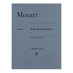 Werke für zwei Klaviere  Zwei Klaviere zu vier Händen. Wolfgang Amadeus - Werke für zwei Klaviere Mozart  - Buch