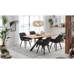 Home affaire Esstisch Montreal beige Esstische rechteckig Tische Tisch