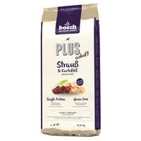 Bosch Plus Strauß & Kartoffel - Sparpaket: 2 x 12,5 kg