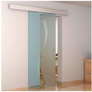 Fischer und Adamek Tür Glasschiebetür Schiebetür Soft – Stop 775x2050 900x2050 1050x2050 mm – Sigma 775 cm x 2050 cm