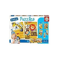 Baby Puzzles Animals Bus (Kinderpuzzle)
