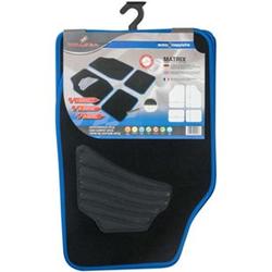 Autoteppich Matrix blau