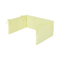 Pinolino® Bettnestchen Nestchen für Kinderbetten, Jersey, weiß gelb