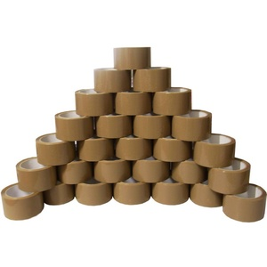 AKTrend® PAKETBAND Klebeband PACKBAND (24 Rollen 50mm x 66m Braun Paketklebeband)
