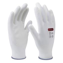 CONNEX Handschuhe Komfort, Größe 9, weiß