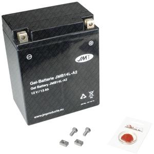 Gel-Batterie für Suzuki GSX-R 750, 1988 (GR77B), wartungsfrei, inkl. Pfand €7,50