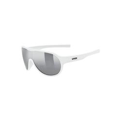 Uvex Sonnenbrille Sonnenbrille sportstyle 512 orange mat/mir.green weiß