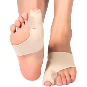 1 Paar Zehenstrecker, Fußpflege Zehe Valgus Bandage, Hallux Valgus Korrektur mit Gel Pad Schutz Und Zehenkappen, Hallux Valgus zehenspreizer für Schmerzlinderung