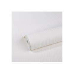 WOW Vliestapete LinienGrass, Weiß, 52cm x 10m weiß