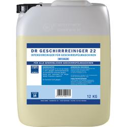 DR Gewerbe Spülmaschinenreiniger 22, Intensivreiniger für Geschirrspülmaschinen, 12 kg - Kanister