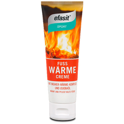 EFASIT SPORT Fuß Wärme Creme 75 ml