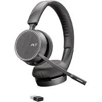 Plantronics POLY 4220 UC Kopfhörer Kopfband Bluetooth Schwarz