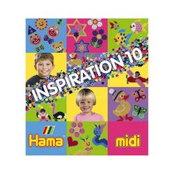 Hama Perlen Bügelperlen midi Inspirationsheft Nr. 10
