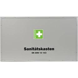 Verbandkasten Feuerwehr-Sanitätskasten leer für DIN 14 143 grau