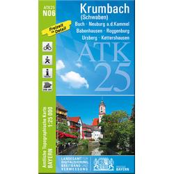 Krumbach (Schwaben) 1:25 000