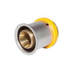 KAN-therm Stopfen Pressfitting Messing 16 mm - K-089032