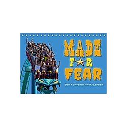 Made for Fear - Der Achterbahnkalender (Tischkalender 2021 DIN A5 quer) - Kalender