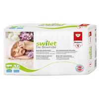 SWILET Öko-Windeln Newborn 2-4 kg 4 x 30 Stück