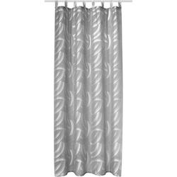 Vorhang Sylt, Neutex for you!, Schlaufen (1 Stück), HxB: 245x140, schlaufen mit Gardinenband schwarz