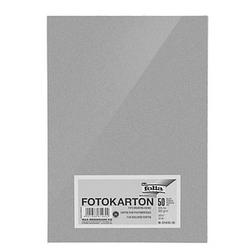 folia Fotokarton silber DIN A4 300 g/qm