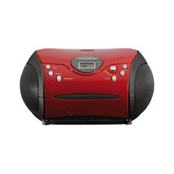 Lenco Lenco SCD-24 pink CD-Player rot
