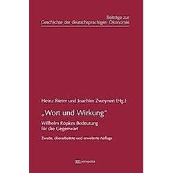 'Wort und Wirkung' - Buch