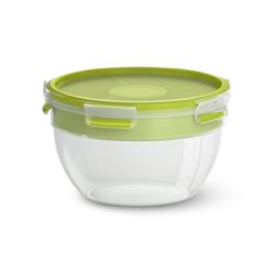 Emsa Salatbox Rund CLIP & GO Kunstoff 2.6 L, Kunststoff, (1-tlg)