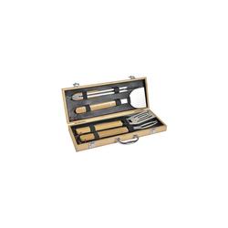 mastrad Grillbesteck-Set 4-tlg. Grillbesteck Set