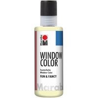Marabu Fun & Fancy Fensterfarbe nachleucht gelb