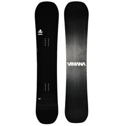 VIMANA CONTINENTAL TWIN CAMBER WIDE V2 Snowboard 2020 black - 156W