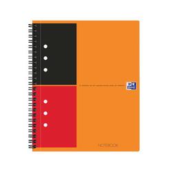 Oxford Spiral Notebook liniert