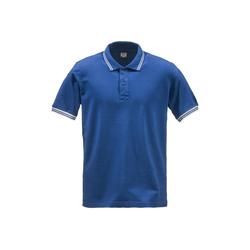 Dolomite Kurzarmshirt Dolomite Poloshirt Herren 76 (1-tlg) blau M