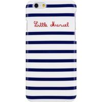 Little Marcel - Marin - Hard Cover / Case / Schutzhülle - Apple iPhone 6, 6s - Blau-Weiss