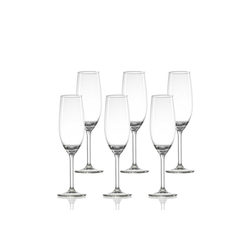 Ritzenhoff & Breker Sektglas 4ALL Sektglas 210 ml 6er Set (6-tlg)
