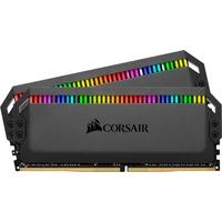 Corsair Dominator Platinum RGB 32GB (2x16GB) DDR4 3200MHz C16 Enthusiast RGB LED-Beleuchtung Arbeitsspeicher schwarz
