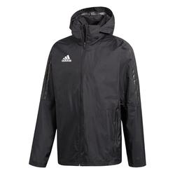 adidas Men's Tiro17 Strm Jacket, Black/Negro/Blanco, Medium -