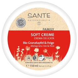 SANTE Soft Creme Bio-Granatapfel & Feige 150 ml