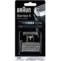 Braun Scherfolie & Klingenblock Series 5 Ersatzpackung 51S (8000 Series) ContourPro/ Activator