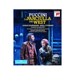 Giacomo Puccini, VARIOUS - La Fanciulla Del West (DVD)