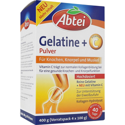 Abtei Gelantine + Vitamin C Pulver