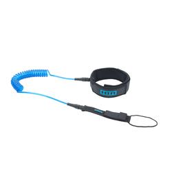 ION SUP Core Leash coiled kneestrap blue 2021 SUP-Leash Band, Leash Längen: 10'