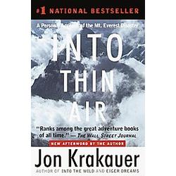 Into Thin Air. Jon Krakauer  - Buch
